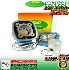 9920590 GRUPPO TERMICO TOP 2 DUE PLUS RACING BLU 47,6 70cc PIAGGIO ZIP SP NGR 50