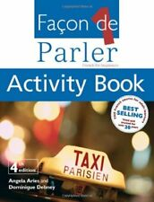 Facon De Parler 1 Activity Book: French for Beginners: Activity Book Pt. 1,Ange