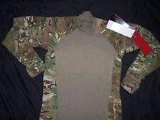 MASSIF GEAR MULTICAM COMBAT SHIRT MEDIUM nwt GENUINE USA MILITARY ISSUE FR-ACU M