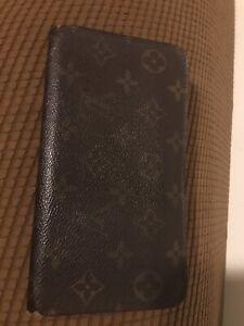 Louis Vuitton Authentic Zippy Women's Long Wallet Monogram Canvas & Leather