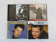 LOT OF 4 VINCE GILL CDS