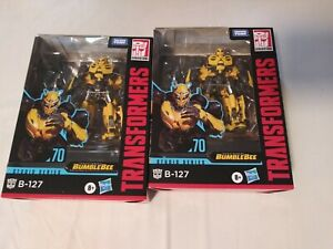 Transformers Studio Series BUMBLEBEE (B-127) FIGURE #70 ~ Deluxe Class Lot of 2