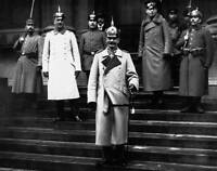 OLD PHOTO Kaiser Wilhelm And Government Officials
