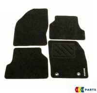 NEW GENUINE FORD FOCUS MK2 2004-2011 FRONT AND REAR BLACK FLOOR MATS RHD 1324714