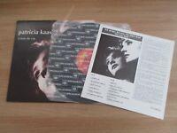 PATRICIA KAAS SCENE DE VIE RARE KOREA ORIG LP 1990 INSERT