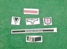 1/6 WW2 Allemand British Free Afrikakorps insigne, badge et correctifs