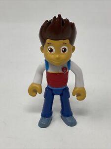"Nickelodeon Paw Patrol Ryder Action Figure Regular 3.5"" Tall Rare HTF"