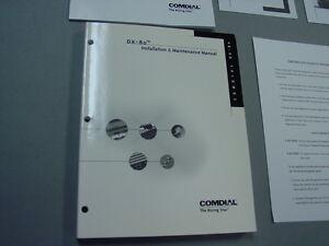 Comdial DX-80 Installation and Maintenance Manual and bonus