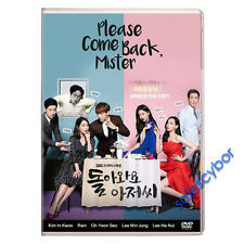 "BUY 5 GET 1 FREE""  Please Come Back, Mister Korean Drama (4DVD) Excellent Eng."