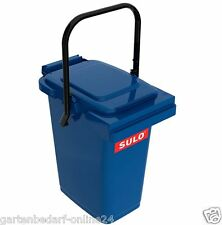 SULO Abfalltonne Mülleimer Abfalleimer Restmüll Kompost Tonne 25 L blau NEU.
