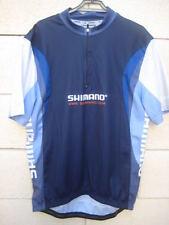 Maillot cycliste SHIMANO marine cycling shirt TBE # XL