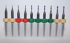 "MICRO MACHINING KIT - SET OF 10 METRIC ENDMILLS .0236"" TO .0591"""