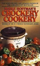Mable Hoffman's Crockery Cookery-ExLibrary
