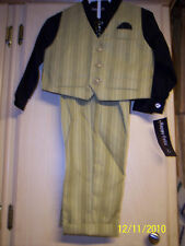 NWT Boy's Size 18M 4-Piece Suit By Happy Fella -JCPenney