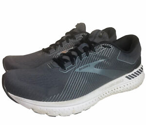 Brooks Mens Transcend 7 Running Shoes Gray 1103311D051 2020 Lace Up Low Top 13 D