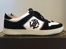 Roberto Cavalli Men/'s Olive Leather Slip On Sneakers Size IT42//US9~ RTL$895