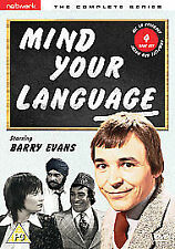 Mind Your Language - Series 1-3 - Complete (DVD, 2007, 4-Disc Set, Box Set)