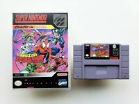 The Amazing Spiderman Lethal Foes - Game Super Nintendo SNES - (USA Seller)