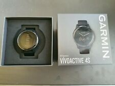 Garmin Vivoactive 4s - Gunmetal - Black Band Excellent Condition Boxed and Mint