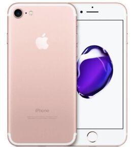 Apple iPhone 7 - 256GB - Rose Gold (Unlocked) GSM