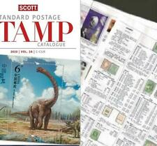 Central African Rep 2020 Scott Catalogue Pages 173-212