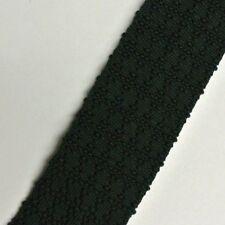 """Skinny Slim Solid Green Silk Trunk Tie 1.8"""" Wide 53"""" Long"""