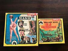 LOT OF 2 VINTAGE SUPER 8 FILMS - OLD IRONSIDES & MASH - FREE SHIPPING