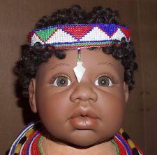 1997 LEE MIDDLETON CHILDREN OF THE WORLD REVA SCHICK LIMITED EDITION KENYA DOLL