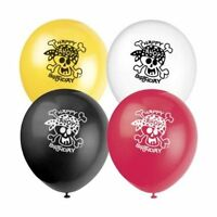 """Pack of 8 Mixed Pirate Birthday Party Balloons 12"""" Latex Suit Air Or Helium"""