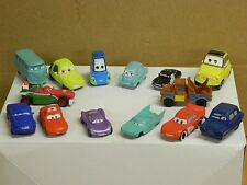DISNEY CARS Assortment 2 of 14 Small Scale Vehicle Measuring 1 1/2 - 2 1/8 long: