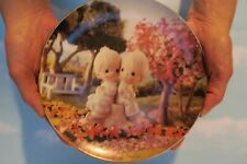 """Precious Moments Classic Plate """"Love One Another"""" 1993 Limited No. 1515Q1515Q"""