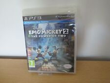 EPIC MICKEY 2, PS3, NEW, SEALED pal
