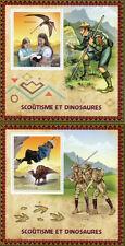 Congo Sheet Scouting Postal Stamps