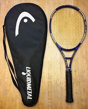 RARE Head Liquidmetal Heat Mid Plus 102 Tennis Racquet 4 1/2 (WITH Case)