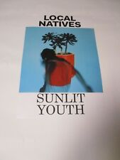 Local Natives Sunlit Youth 2 Sided Poster Promotional Only 17 X 11 New