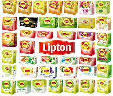 LIPTON TEA BIG VARIETY TO CHOOSE(40 FLAVORS) - 1 BOX(20 BAGS)