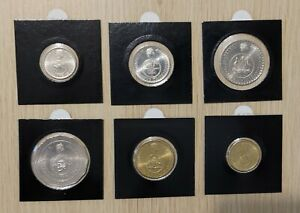 Set Of 6 Coins - 2016 Changeover Coins, low mintage