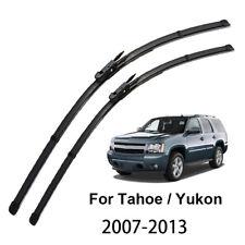 "Front Window Wiper Blades For Chevrolet Tahoe GMC Yukon MK3 07-13 22"" 22""  08 12"