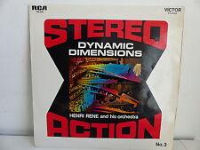 HENRI RENE Stereo action N°3 Dynamic dimensions 740544