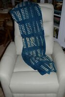 Vintage Indigo Dogon Mali woven cloth wrap - Beautiful