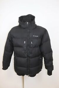 Columbia Men's Down 700FILL OMNI-HEAT Hooded Outdoor Puffer Jacket sz XL