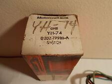 1972 NOS Ford Motorcraft D2DZ-19986-A Switch YH-74 Fan Speed W/ Wire Harness