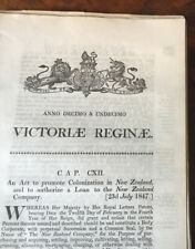 1846-1873.   Colonization in New Zealand.  A collection of material.