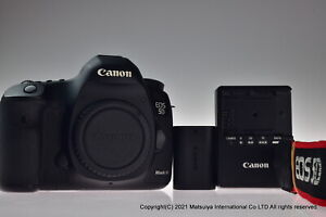 Canon EOS 5D Mark III 22.3MP Digital Camera Body Shutter Count 17299 Excellent