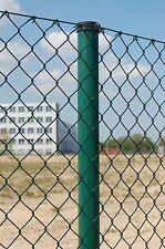 25m Maschendrahtzaun 125 cm Höhe Industriequalität  Drahtzaun Komplettset Zäune