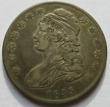 1835 Capped Bust Silver Half Dollar - VF, Early Halve 50C coin