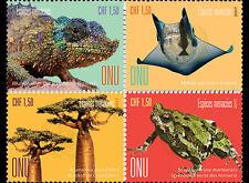 VN / United Nations(Geneva) - Postfris/MNH -Complete set Endangered Animals 2017