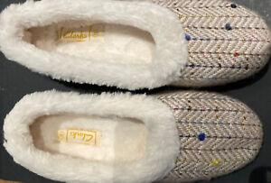 clarks welk rose Ladies slippers Uk 8 G /42
