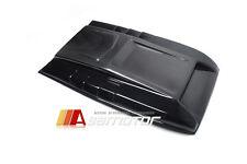 Carbon Fiber / Matte Black Bonnet Scoop Hood Cover for 15-16 FORD RANGER T6 MKII