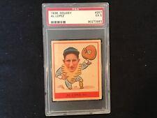 1938 Goudey #257 Al Lopez psa 5